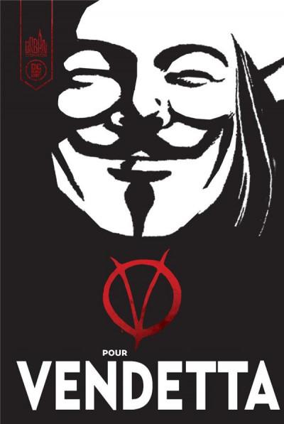 Couverture V pour Vendetta- éd. black label