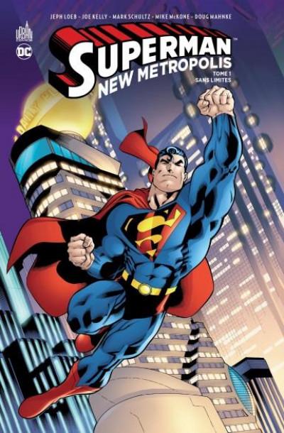 Couverture Superman - new Metropolis tome 1