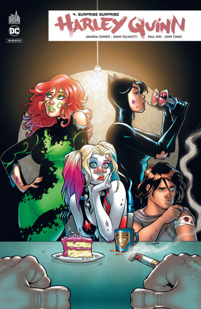 Couverture Harley Quinn rebirth tome 4