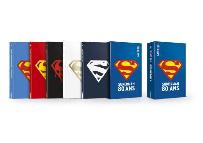 Couverture Coffret Superman 80 ans