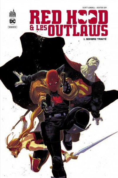 Couverture Red hood & the outlaws tome 1