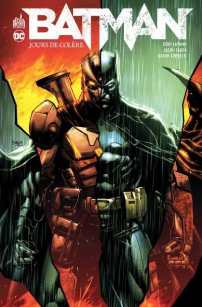Couverture Batman - Jours de colère