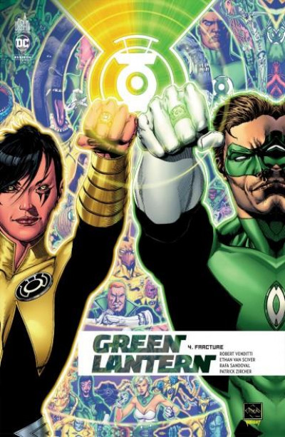 Couverture Green lantern rebirth T.4 - fracture