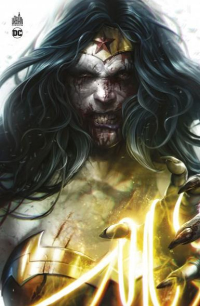 Couverture Dceased - cover Wonder Woman