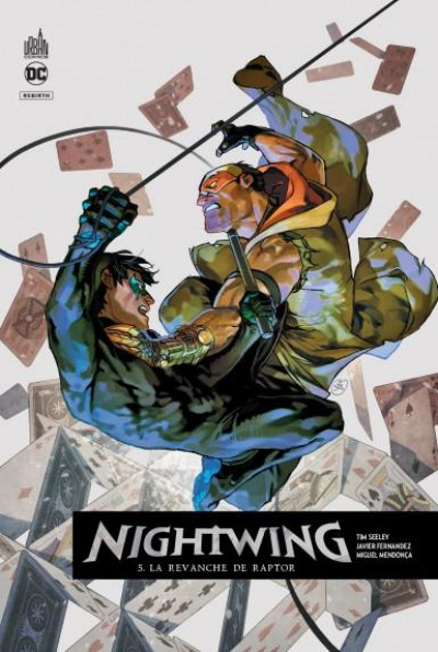 Couverture Nightwing rebirth tome 5