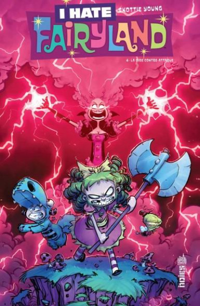 Couverture I hate Fairyland tome 4