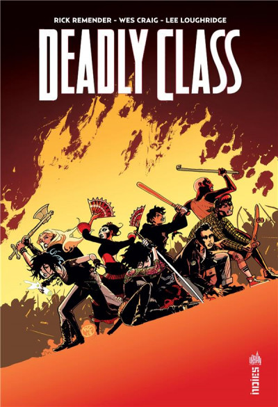 Couverture Deadly class tome 7