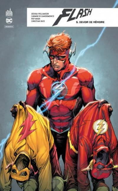 Couverture Flash rebirth tome 5