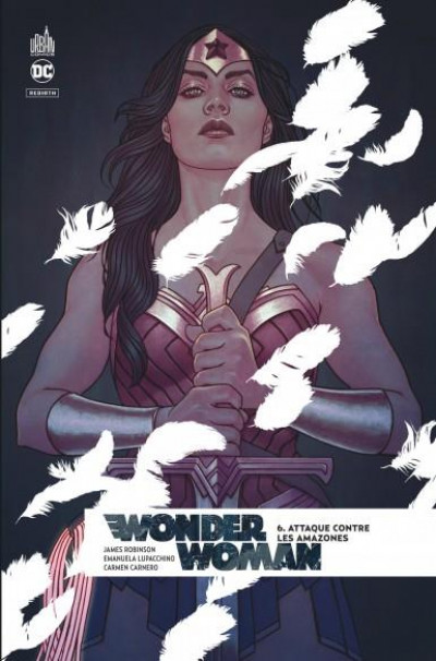 Couverture Wonder woman rebirth tome 6