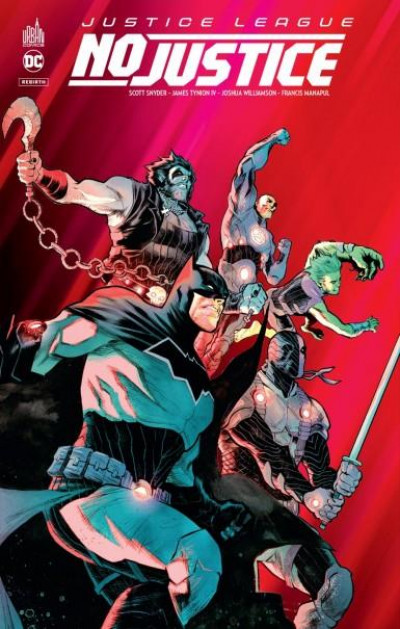 Couverture Justice league - No justice