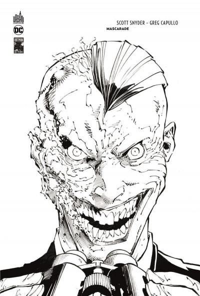 Couverture Batman - Mascarade - édition n&b 80 ans
