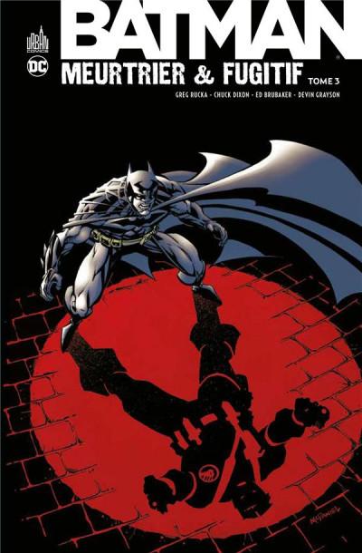 Couverture Batman meurtrier & fugitif tome 3