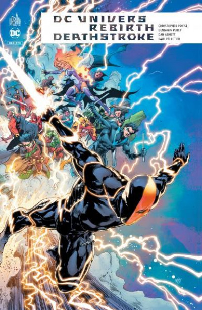 Couverture DC univers rebirth - Deathstroke