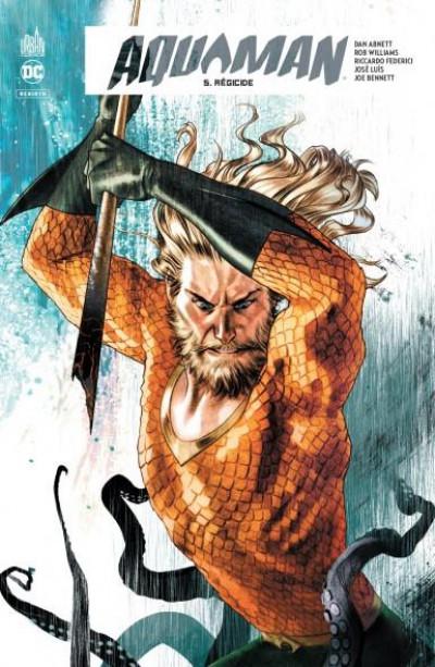 Couverture Aquaman rebirth tome 5
