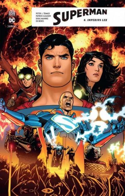 Couverture Superman rebirth tome 6