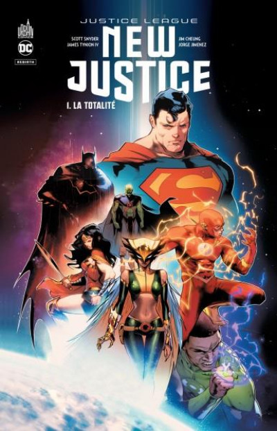 Couverture New justice tome 1