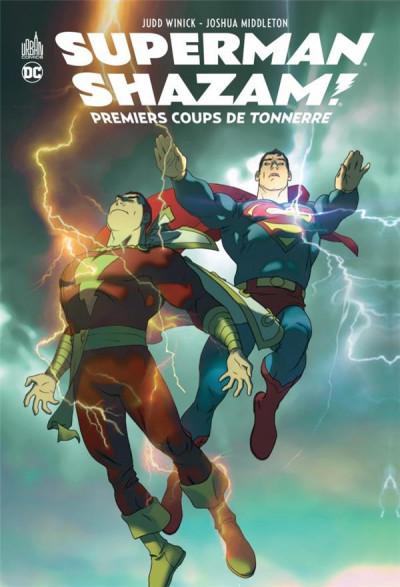 Couverture Superman/Shazam - Premiers coups de tonnerre