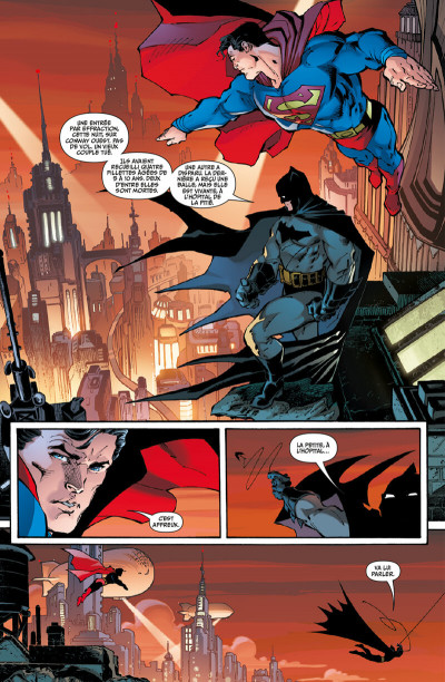 Page 2 Superman : up in the sky