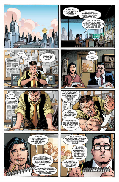 Page 4 Superman : up in the sky