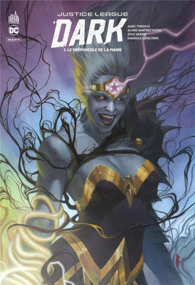 Couverture Justice league dark rebirth tome 1