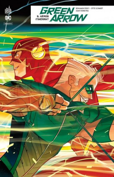 Couverture Green arrow rebirth tome 5