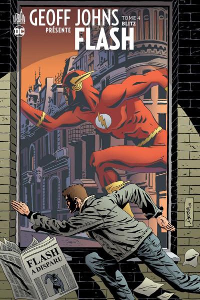 Couverture Geoff Johns présente Flash - intégrale tome 4