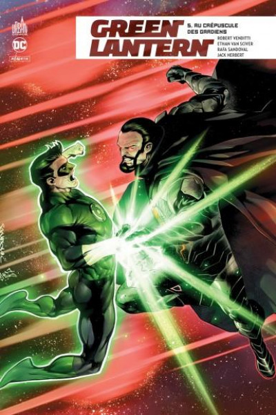 Couverture Green lantern rebirth tome 5