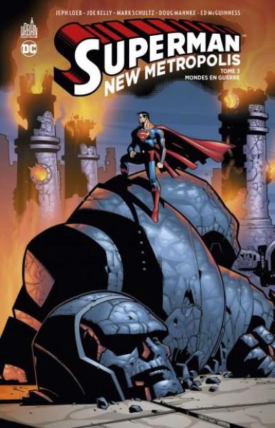 Couverture Superman - New metropolis tome 3