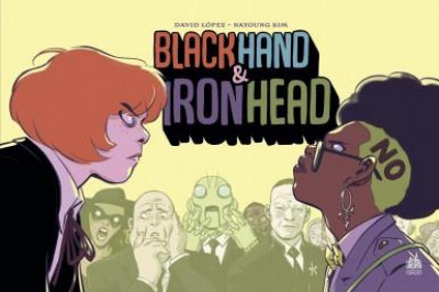 Couverture Black hand iron head tome 1