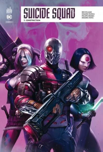 Couverture Suicide squad rebirth tome 7