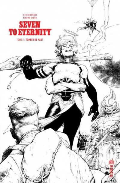 Couverture Seven to eternity - édition n&b tome 3