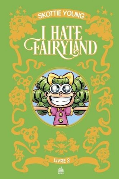 Couverture I hate fairyland - intégrale tome 2