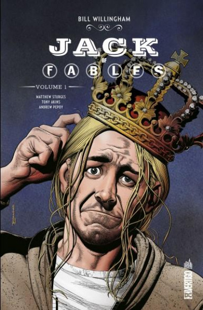 Couverture Jack of Fables tome 1