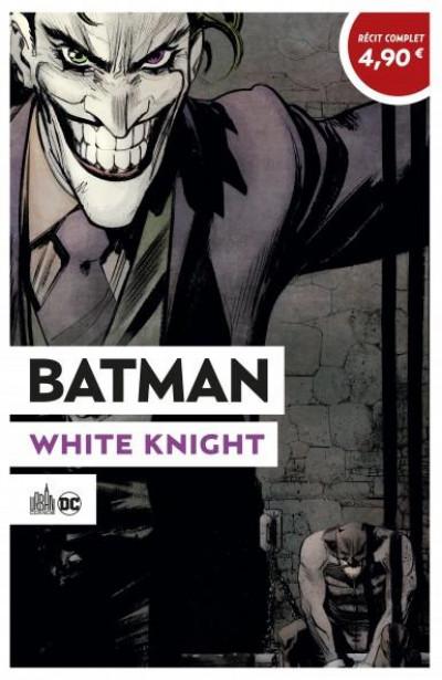 Couverture Batman white knight (opération été 2020)