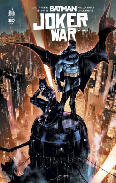Couverture Batman joker war tome 1