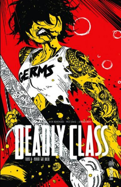Couverture Deadly class tome 8