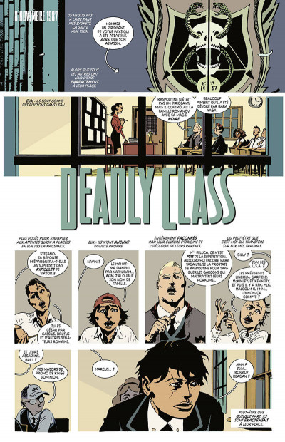 Page 8 Deadly class tome 8