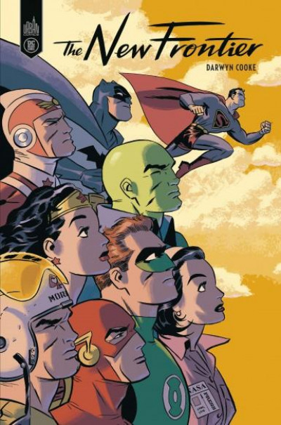Couverture DC the new frontier