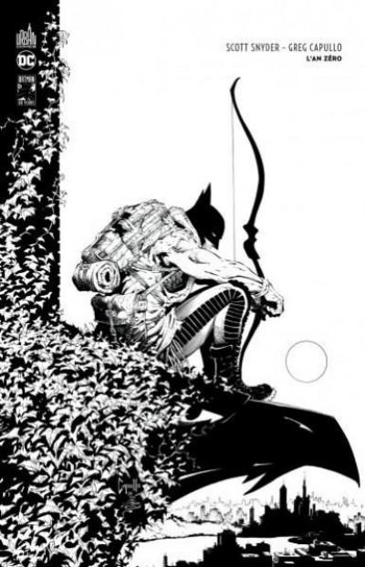 Couverture Batman l'an zéro - édition n&b 80 ans