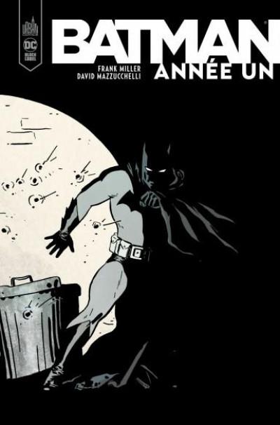 Couverture Batman année un - édition black label