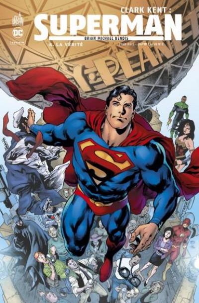 Couverture Clark Kent - Superman tome 4