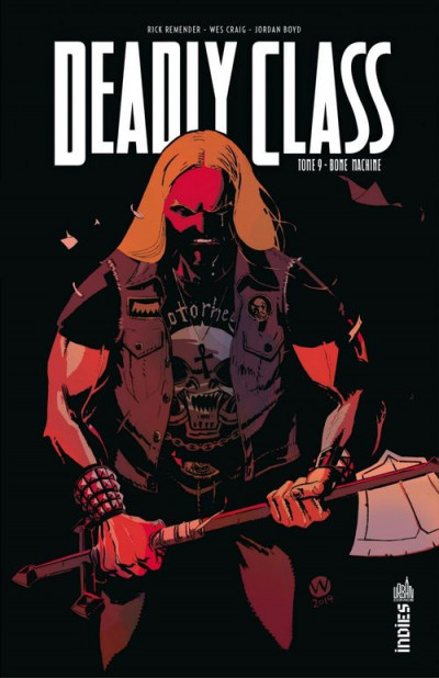 Couverture Deadly class tome 9