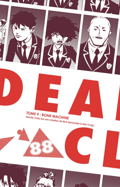 Page 3 Deadly class tome 9