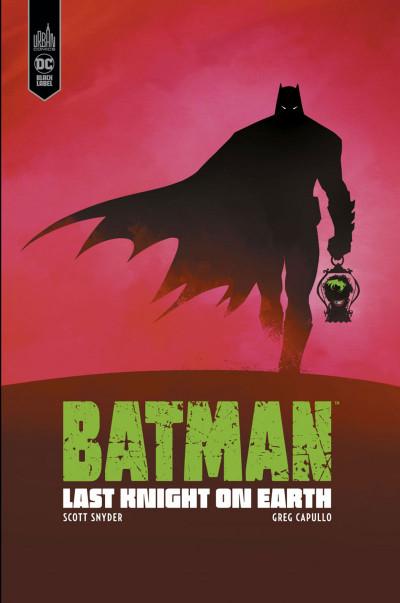 Couverture Batman last knight on earth