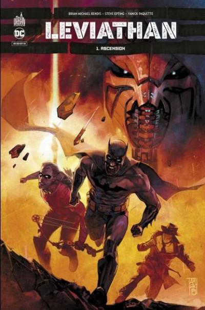 Couverture Batman - Leviathan tome 1