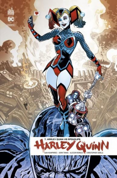 Couverture Harley Quinn rebirth tome 7