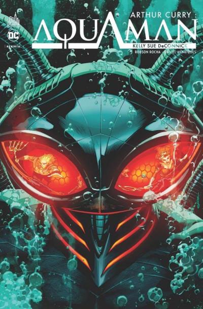 Couverture Arthur Curry - Aquaman tome 2