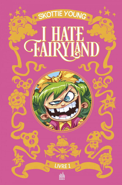 Couverture I hate fairyland - intégrale tome 1