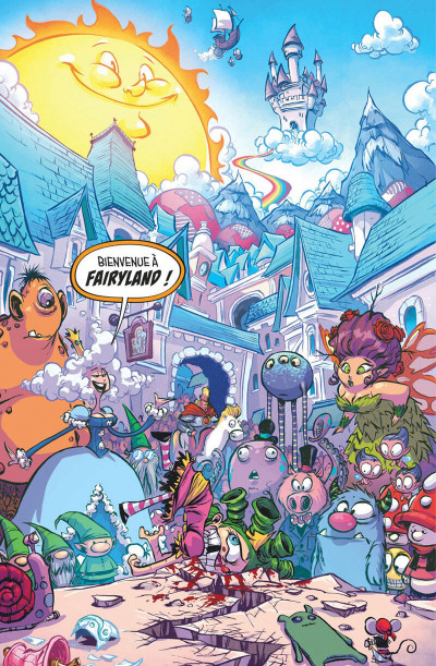 Page 0 I hate fairyland - intégrale tome 1
