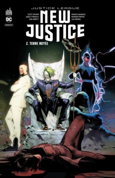 Couverture New justice tome 2